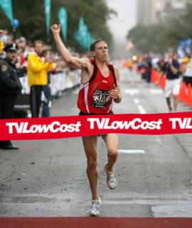 ryan hall finishing houston half